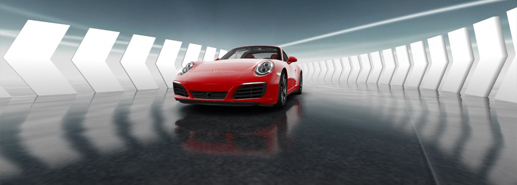 Project WebGL Porsche 911 Showcase